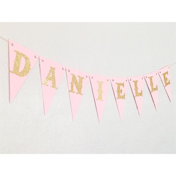 custom name banner birthday banner by partyperfectboutique on etsy