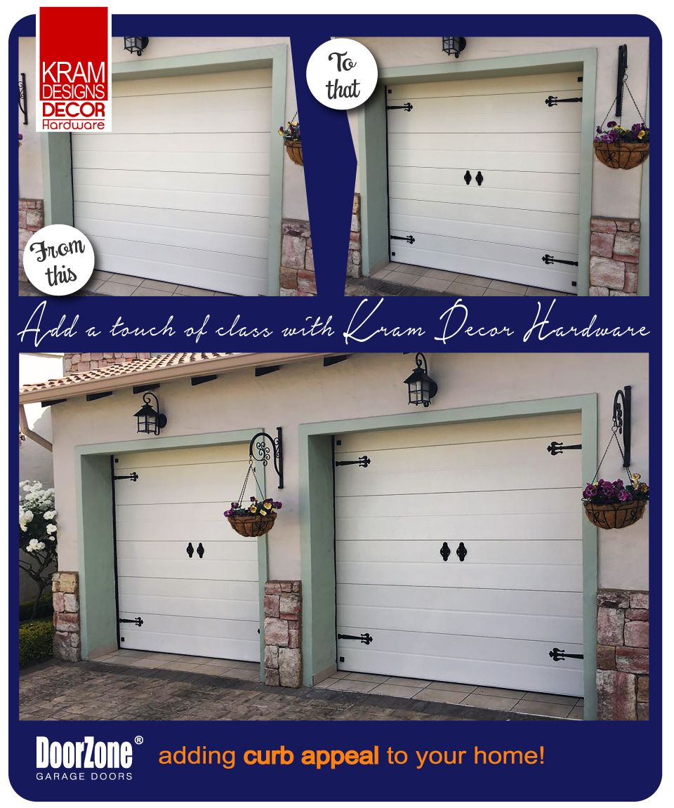 It S The Little Things That Matter Your Garage Door Is One Of The Biggest Surfaces On The Outside Of Your Home So You Ca Garage Door Decor Decor Decor Design
