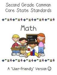 2nd grade common core standards dboos