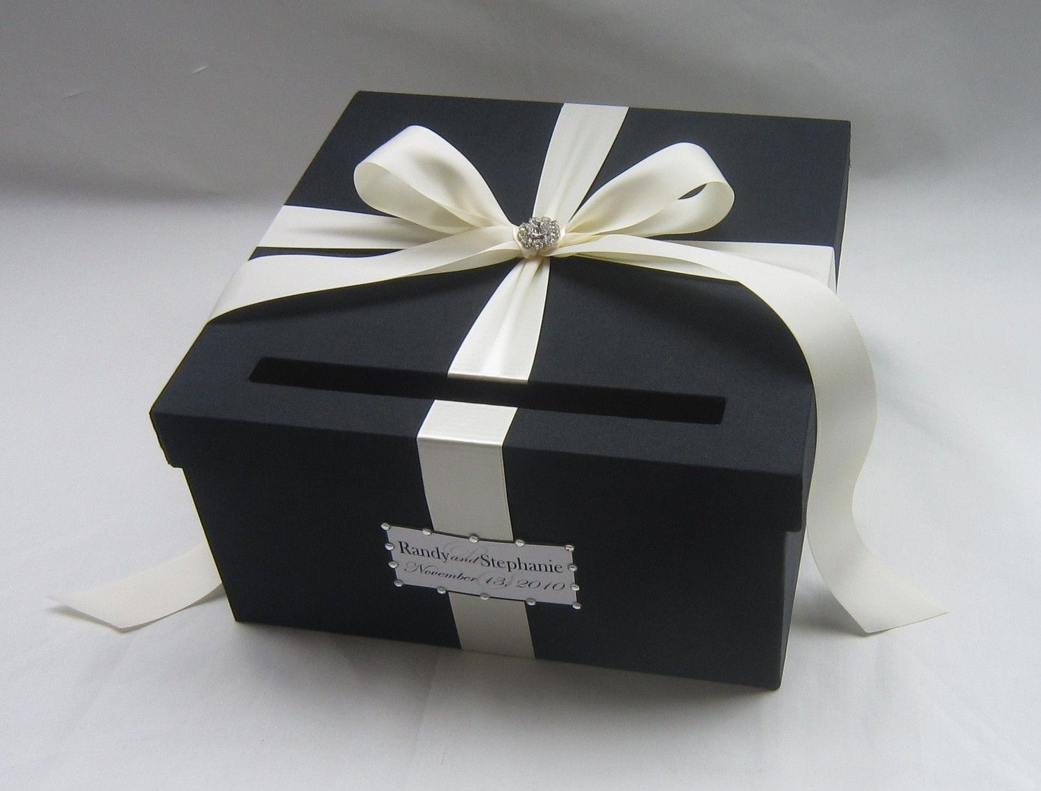 Red Wedding Card Box Money Holder Custom Made Black Any Color And: Wedding Card Box For Cash At Reisefeber.org