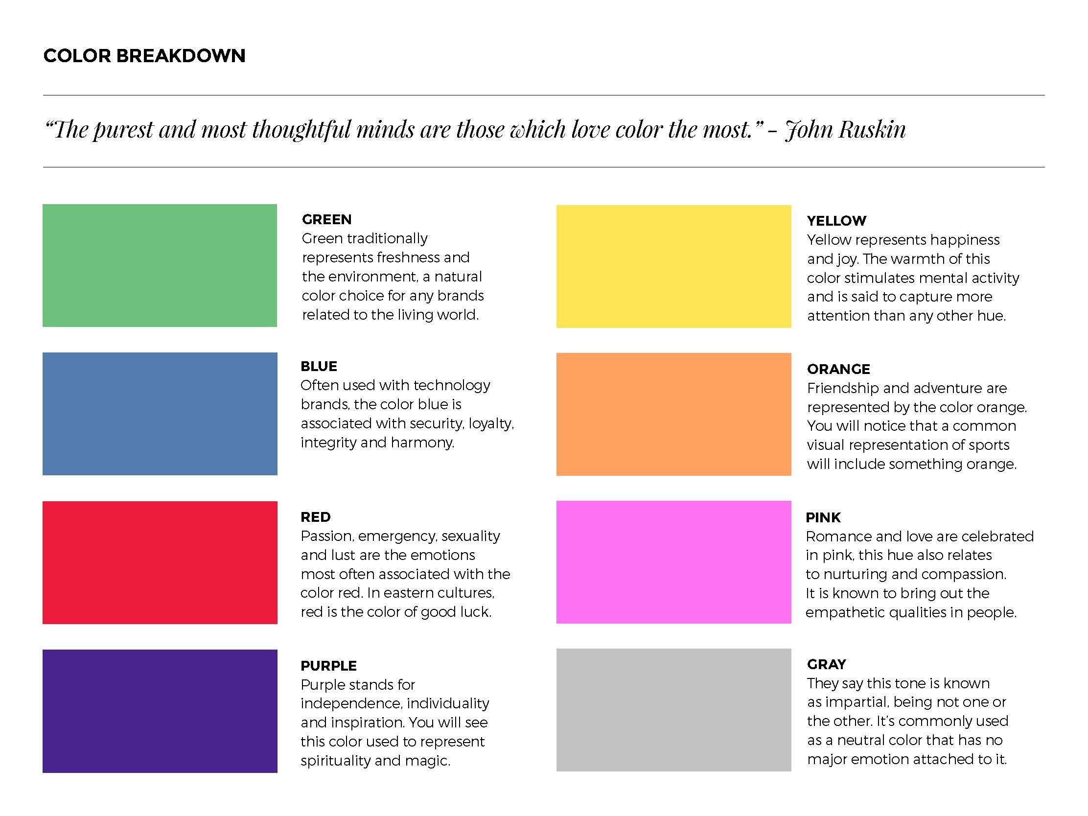 Color Theory 50 Key Graphic Design Terms Explained Simply For