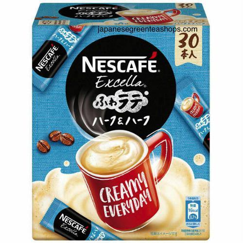 Nescafé Excella Fuwa Cafe Latte Half & Half Instant Coffee