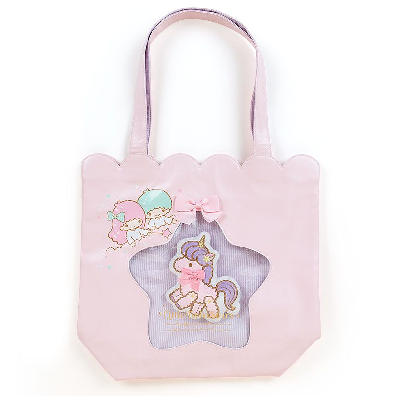 Little Twin Stars window pocket tote bag Sanrio online shop - official mail order site