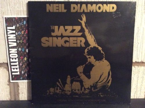 Details About Neil Diamond The Jazz Singer Lp Album Vinyl Record Ost Ea St12120 Film Pop 80 S The Jazz Singer Neil Diamond Vinyl Records