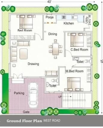 Image result for bhk floor plans of also interior in rh pinterest
