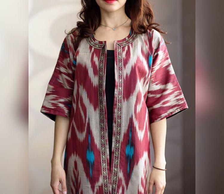 bcb816de12c Uzbek dress adras адрас i❤️Uzbekistan Batik Kebaya