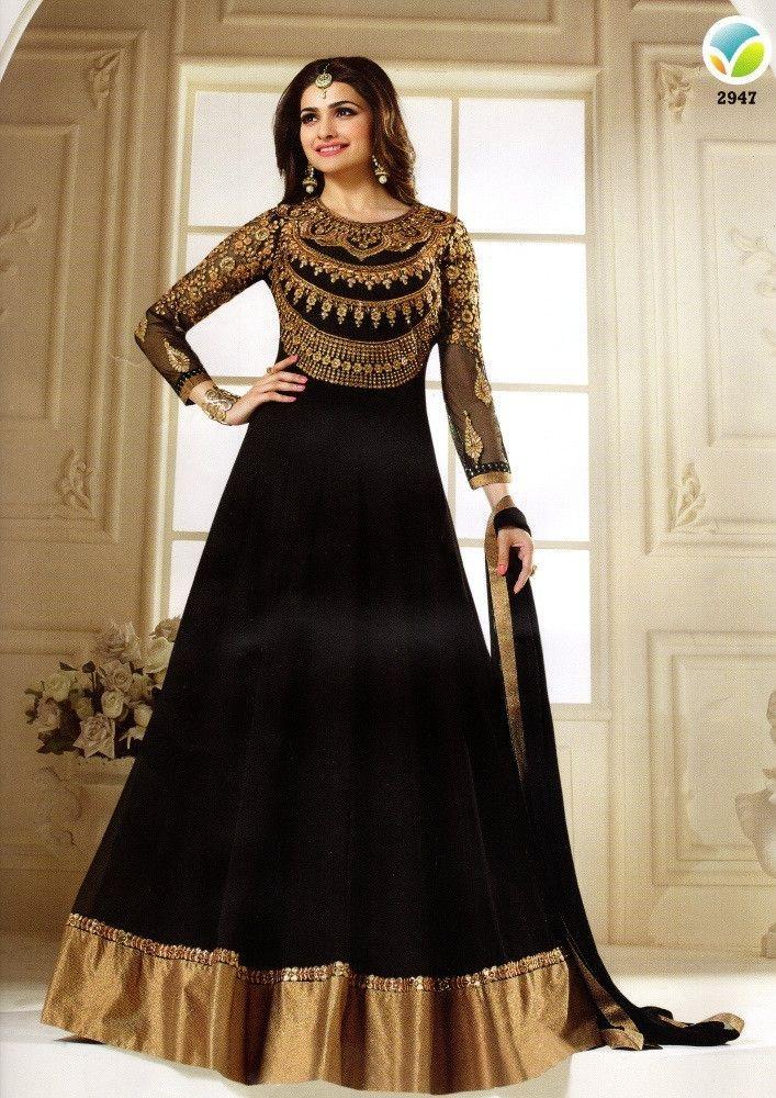 Black Pakistani Wedding Dresses Black Wedding P...