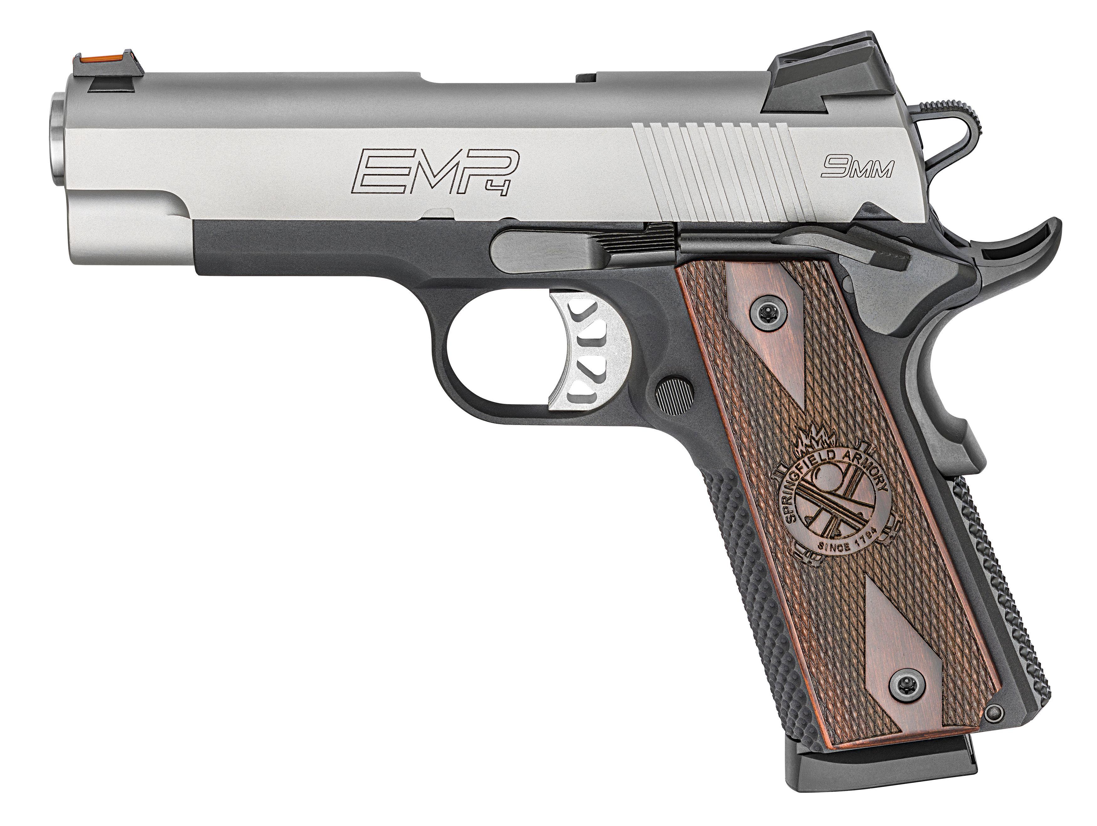 "1911 EMP® 4"" Lightweight Champion™ 9mm - Springfield ArmoryFind our ..."