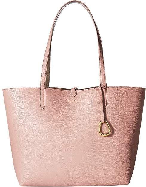 c277f32164c7 Lauren Ralph Lauren Merrimack Reversible Tote Medium Tote Handbags ...