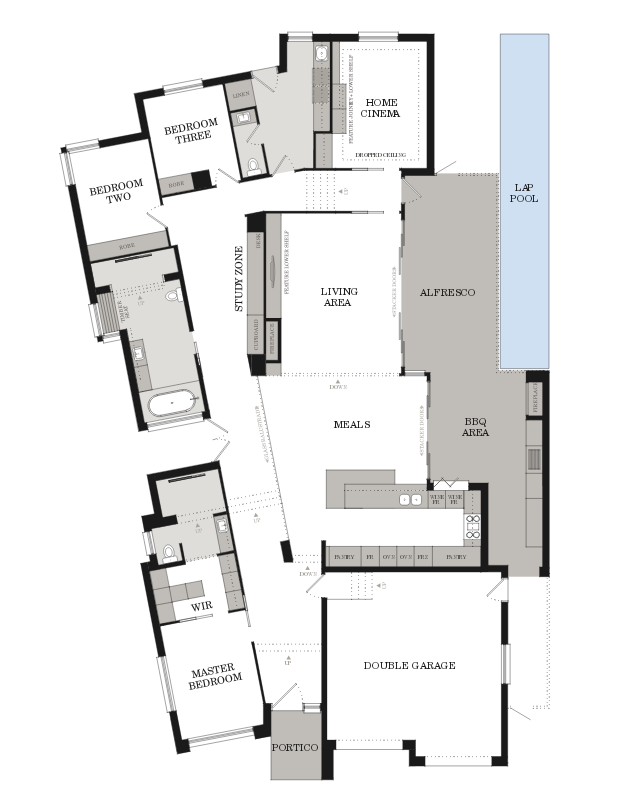 At Weeks Building Group Our Passion Is To Create Homes That Showcase Superior Craftsmanship Home Design Floor Plans Architectural Floor Plans House Floor Plans