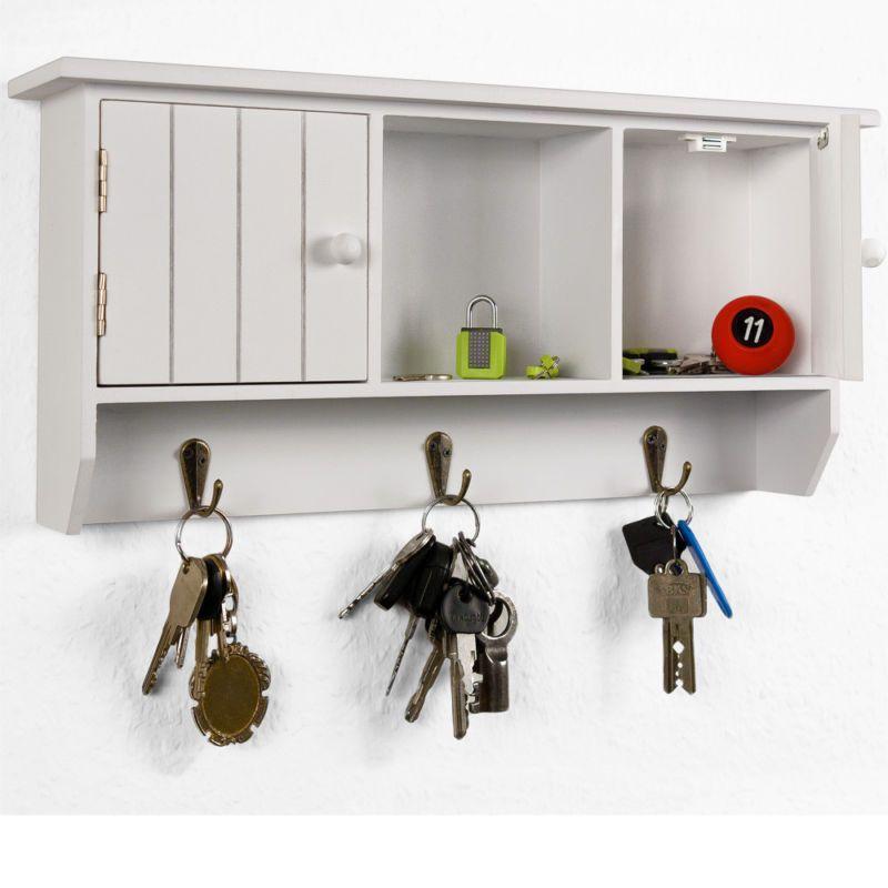 Details zu Schlüsselkasten Holz Schlüsselbrett Schlüsselboard ...