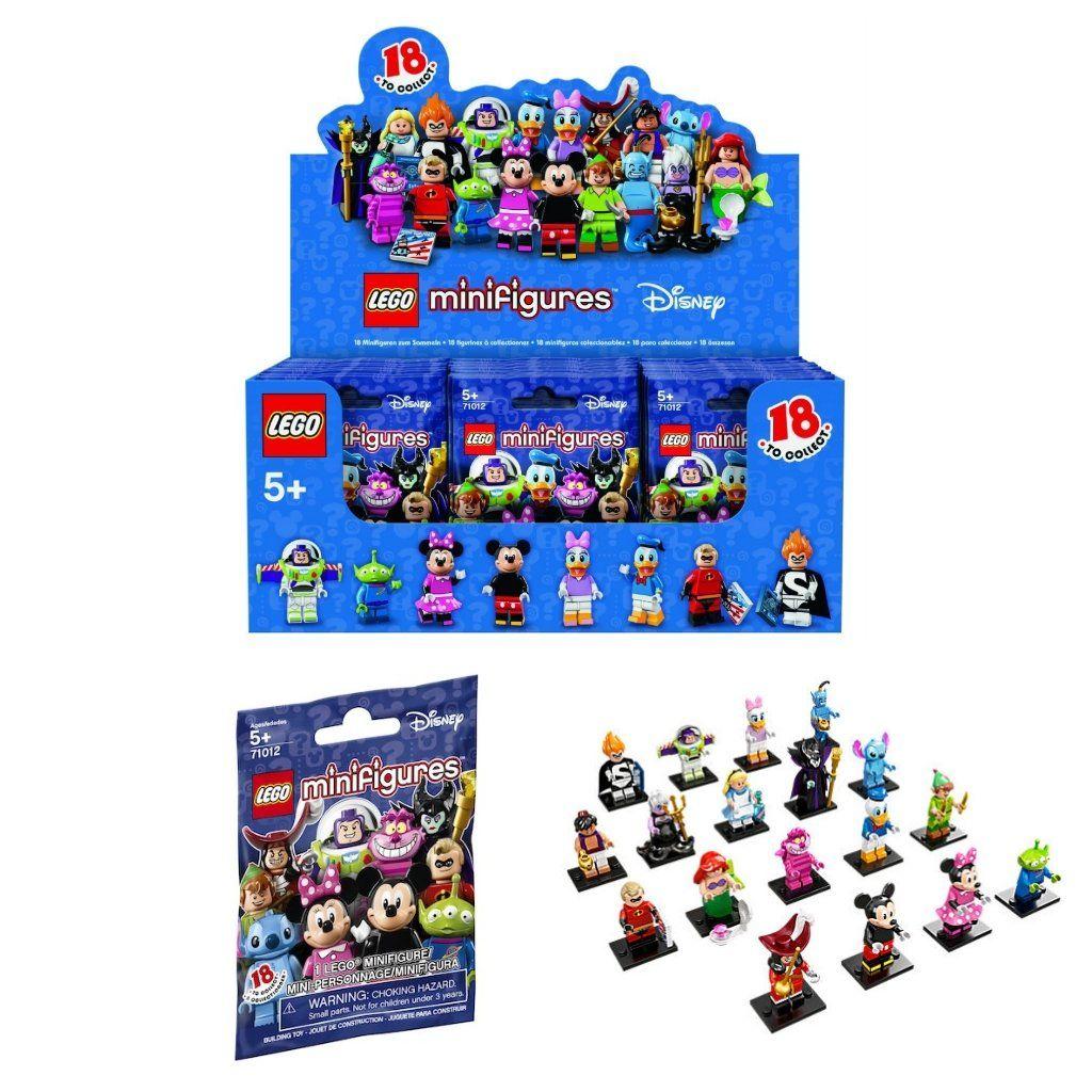 Lego Minifigure Disney Series 71012 New in open bag