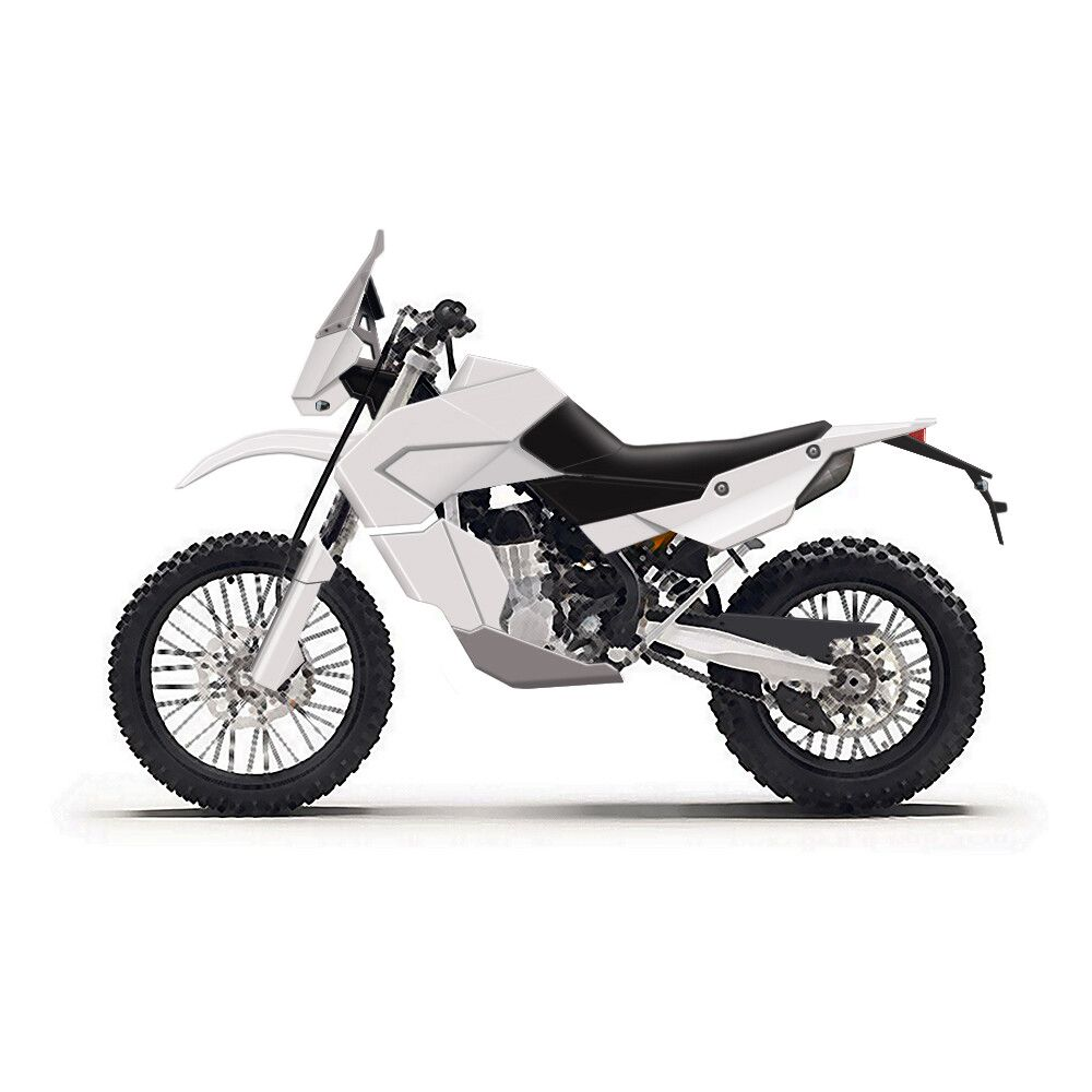 Adv Bike Concept By Roman Maximuslightweight Adventure Enduro Bike Concept Adventure Bike Concept Motorcycles Bike