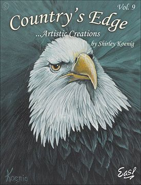 Country's Edge Vol 9 by Shirley Koenig | paint books