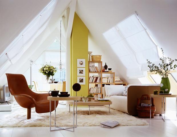 Räume mit Dachschrägen - die besten Wohntipps Schräg - wandgestaltung dachschrge