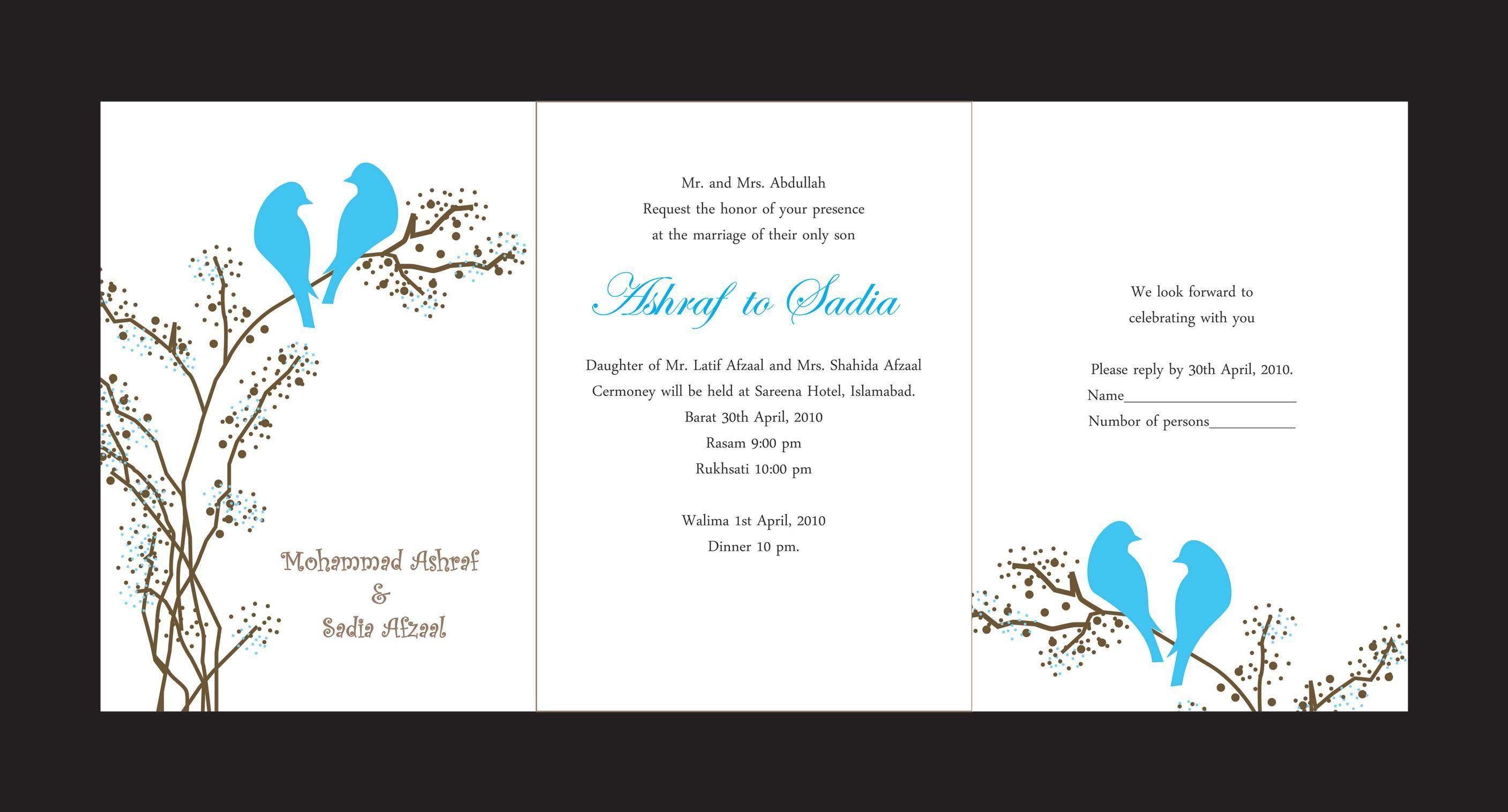 Best Invitation Cards : Unique Wedding Invitation Card Desig