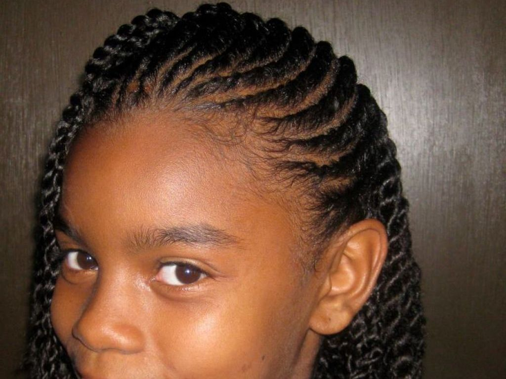 african american haircut ideas; cute braids hairstyles for black
