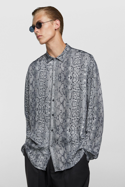 065e4e23 Pin by Lele on Snake motif in 2019 | Shirts, Snake print, Men sweater