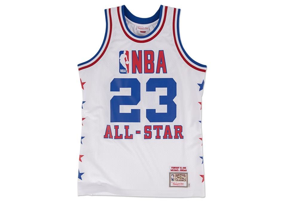 16e084388792 Michael Jordan Mitchell   Ness 1985 NBA All-Star Game Jersey