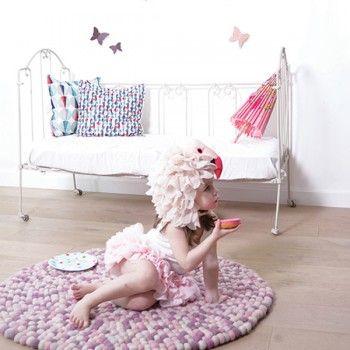 Lilipinso / Pink Misty Karma rug