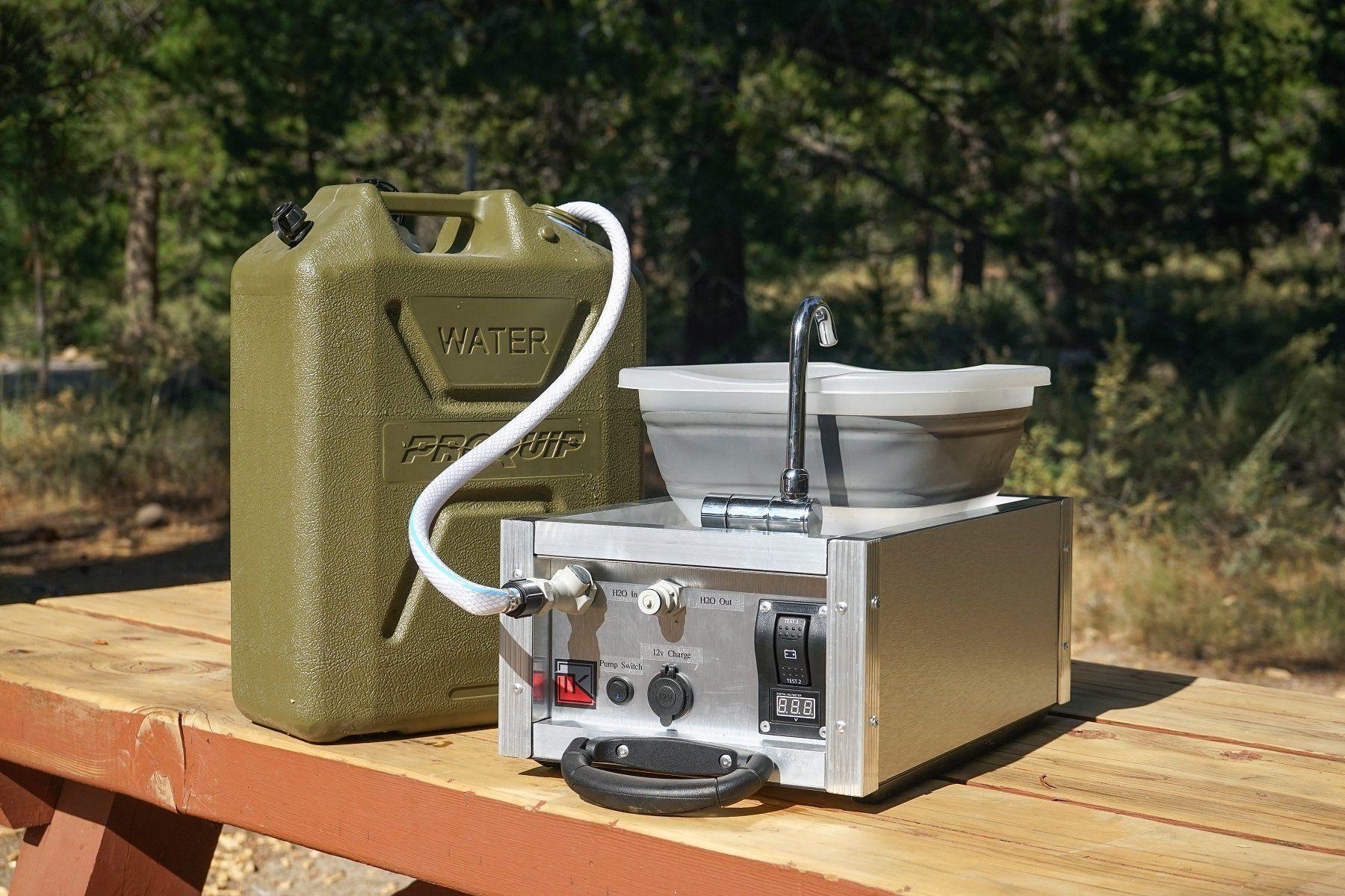Trail Kitchen Water Boy Camping Sink Portable Water Heater On Demand Water Heater