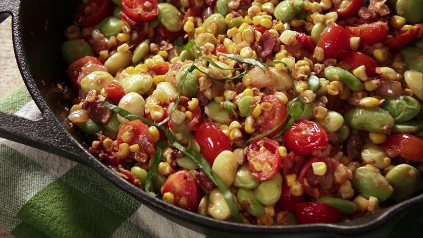 Super Simple Succotash Recipe in 2020 Food network