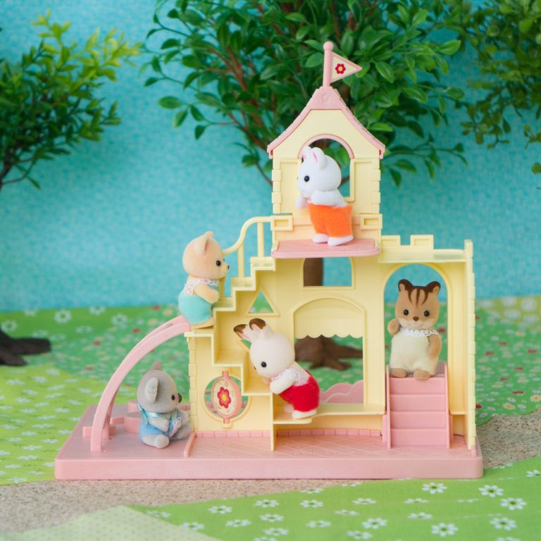 Product Review Baby Castle Playground Mimi S Little Sylvanian Town Baby Play Playground Sylvania Families