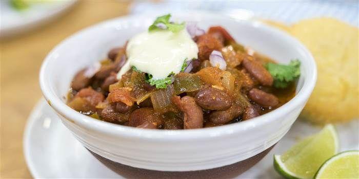 Vegan Firehouse Chili Recipe Food Recipes Vegan