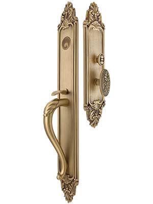 Valmont Premium Thumb Latch Mortise Entry Set Entry Door Hardware Antique Hardware Door Sets
