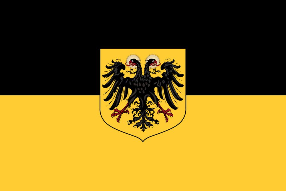 Flag Of German Empire That Was Unified By Austria Ca 1860 70 S Flag Art Historical Flags German Flag