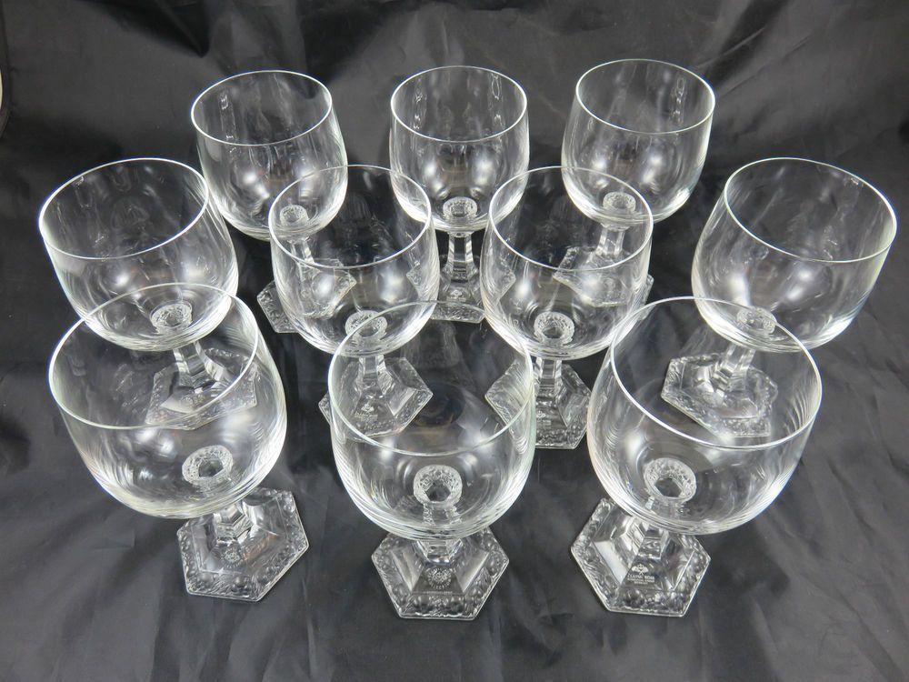 Rosenthal Weinglas 10 Stück Gläser Maria weiß Classic Rose
