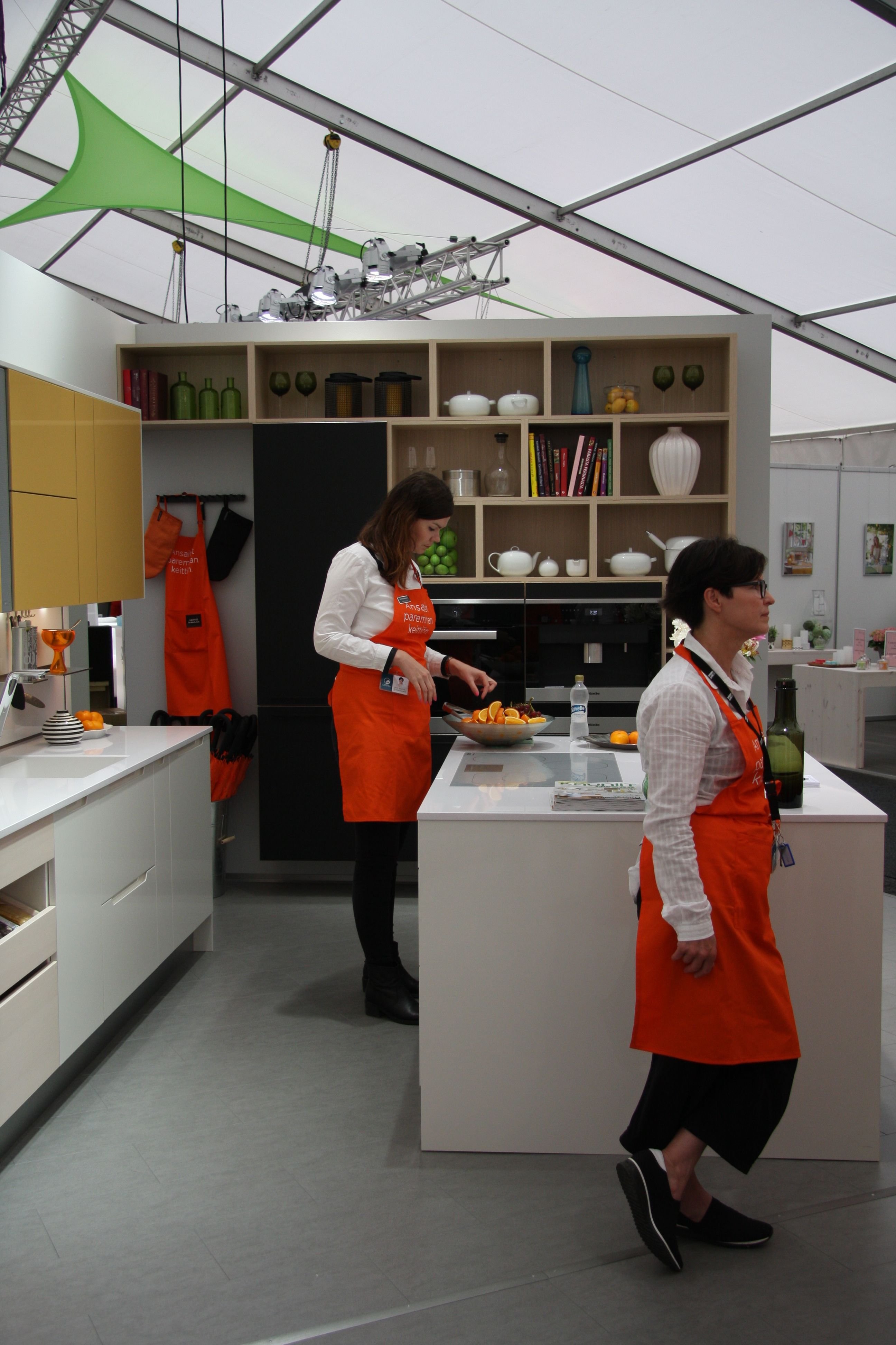 Keittiömaailman Asuntomessuosastoa 2015 #asuntomessut2015