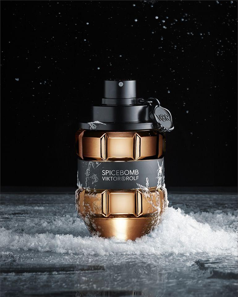 Viktor Rolf Spicebomb Perfume Photography Perfume Cosmetics Photography