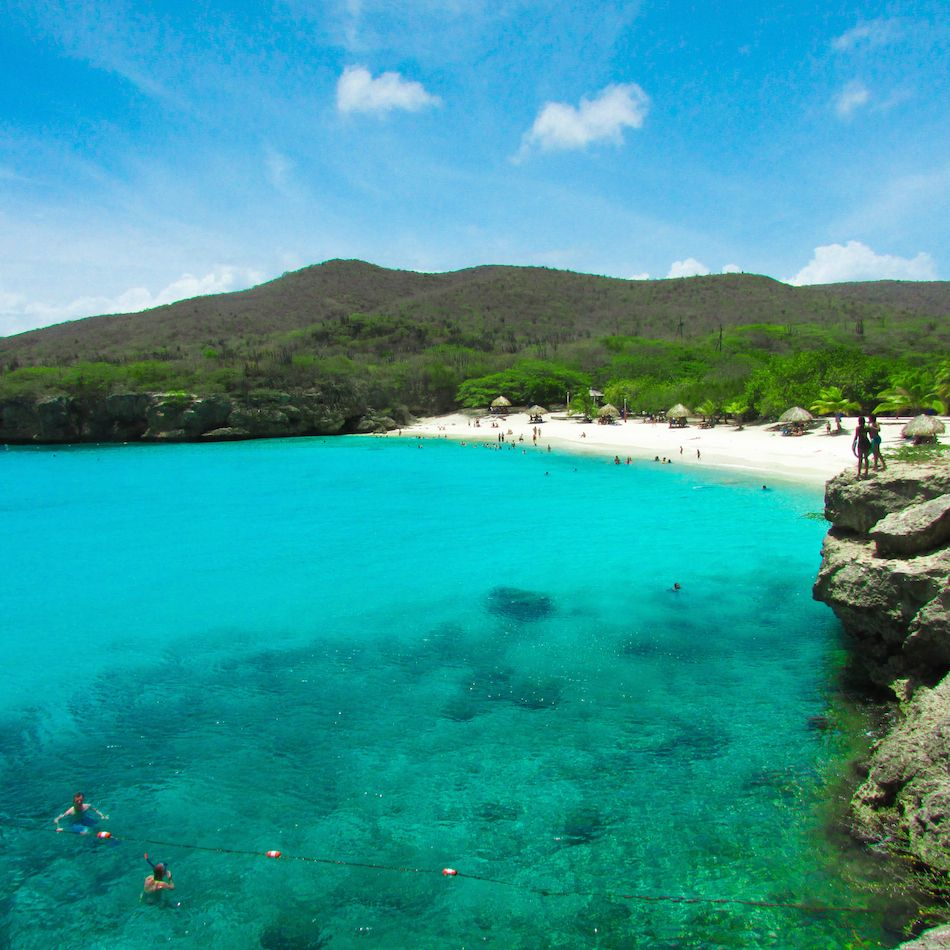 Cheapest Places To Travel Caribbean: Playa Kenepa Curaçao #caribbean #island #travel