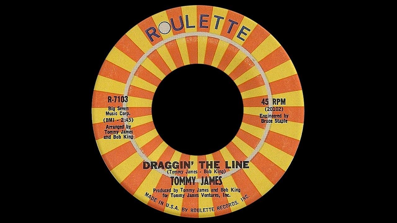 Tommy James Draggin The Line 1971 Disco Purrfection Version