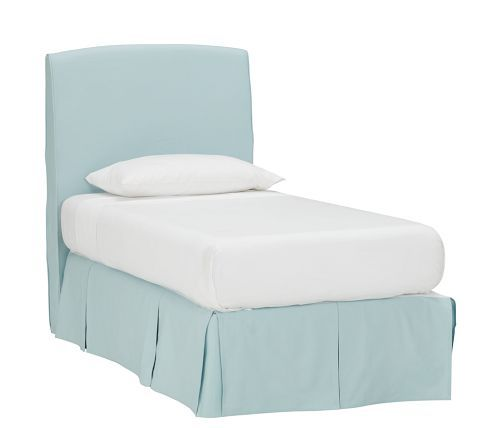 Lewis Headboard And Slipcover Pottery Barn Kids