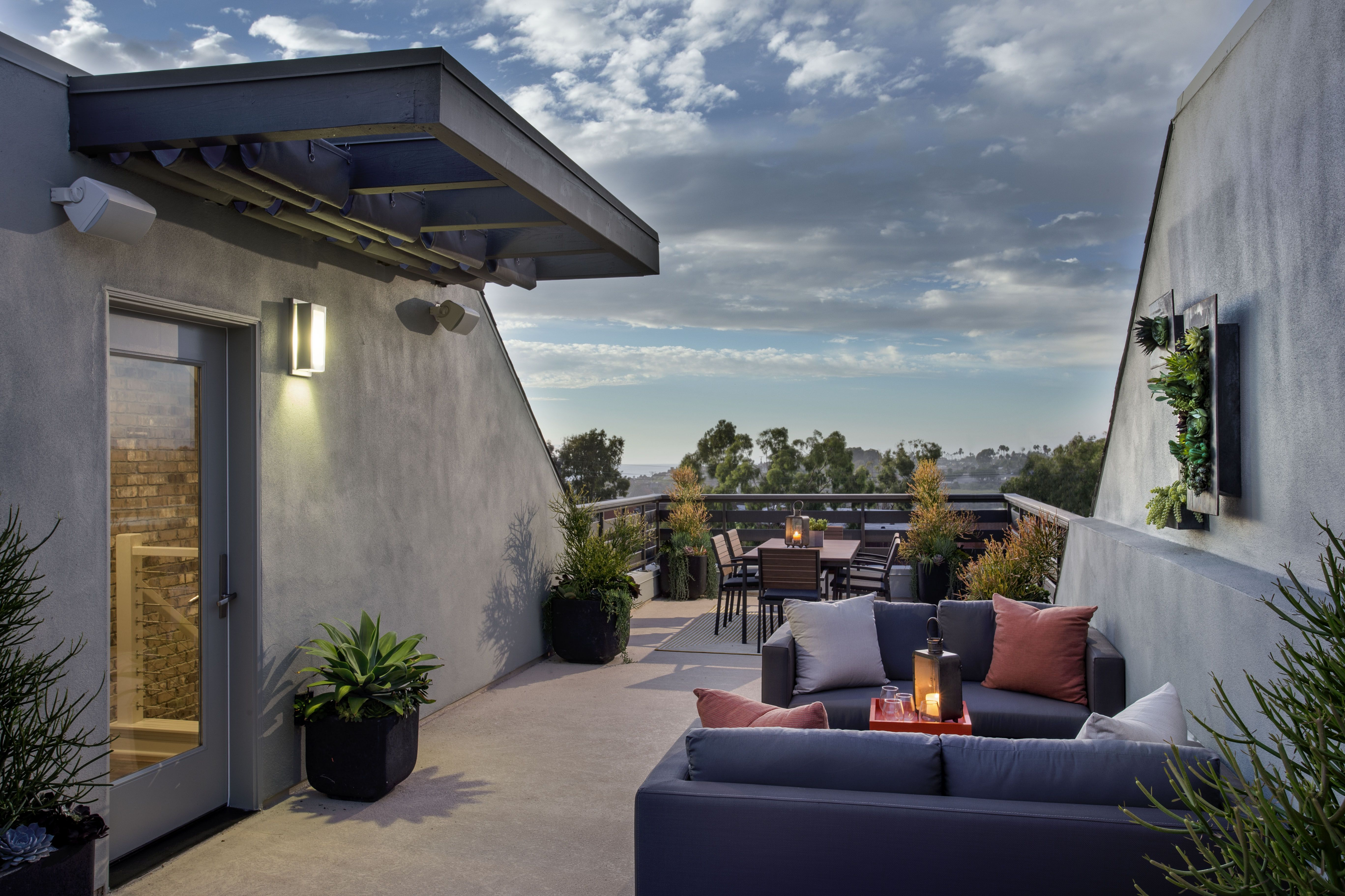 Your own private rooftop deck for taking in the Southern California ...