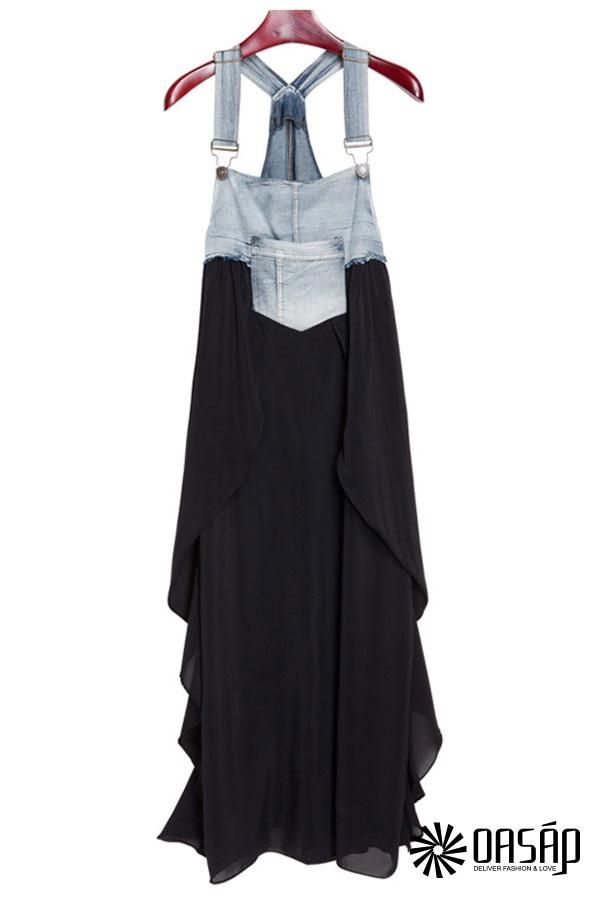 denim-paneled-suspender-dress