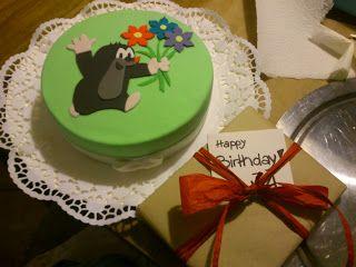 Ein Maulwurf Zum Geburtstag Geburtstag Kuchen Hubsche Kuchen Kuchen Ideen