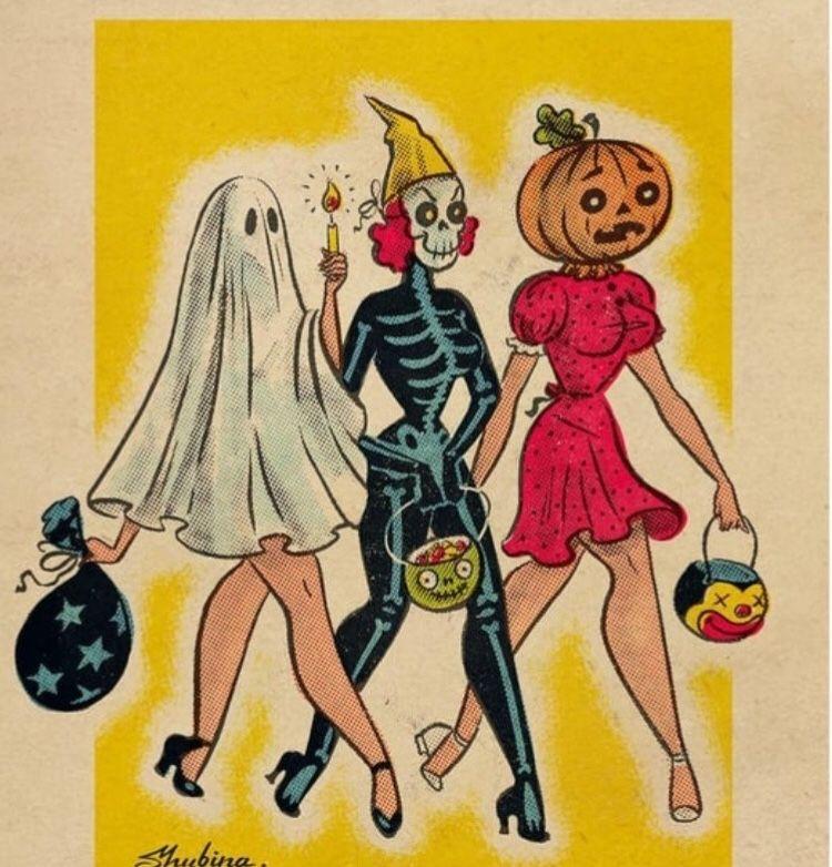 Vintage Halloween Vintage Halloween Art Halloween Art Vintage Halloween