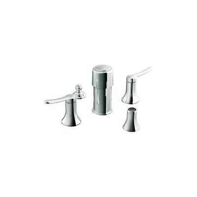 Moen Fina Double Handle Bidet Faucet Finish: