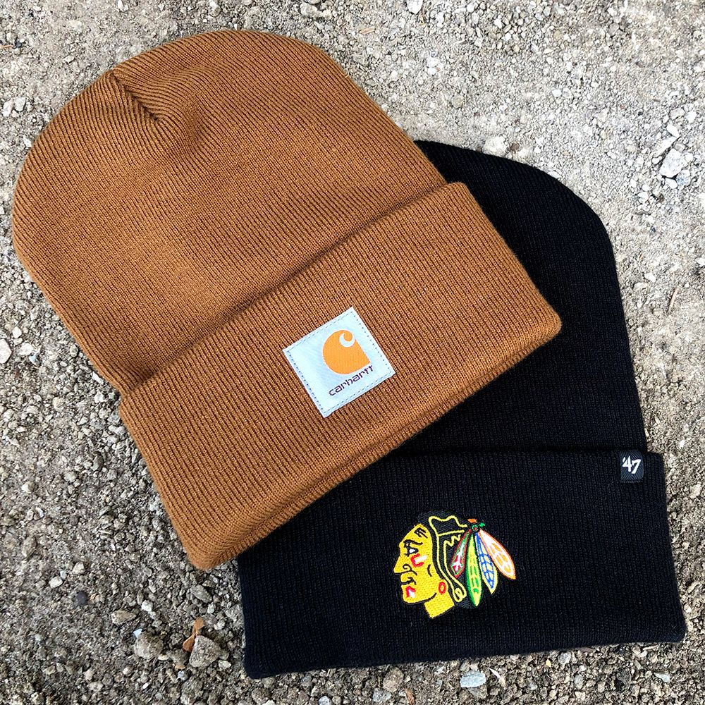 3dcbb5e1ac16c Check out this Carhartt x  47 Cuff Knit ( 25) available now at the  Blackhawks Store! This item can also be purchased over the ☎ at  312-759-0079.