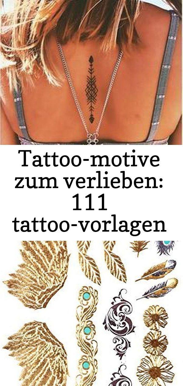 Tattoomotive zum verlieben 111 tattoovorlagen zur inspiration 20 Geometric back tattoo GOLD Tattoo Flash Tattoos Haut Tattoos Flügel Federn Ornamente toller Haut Sch...