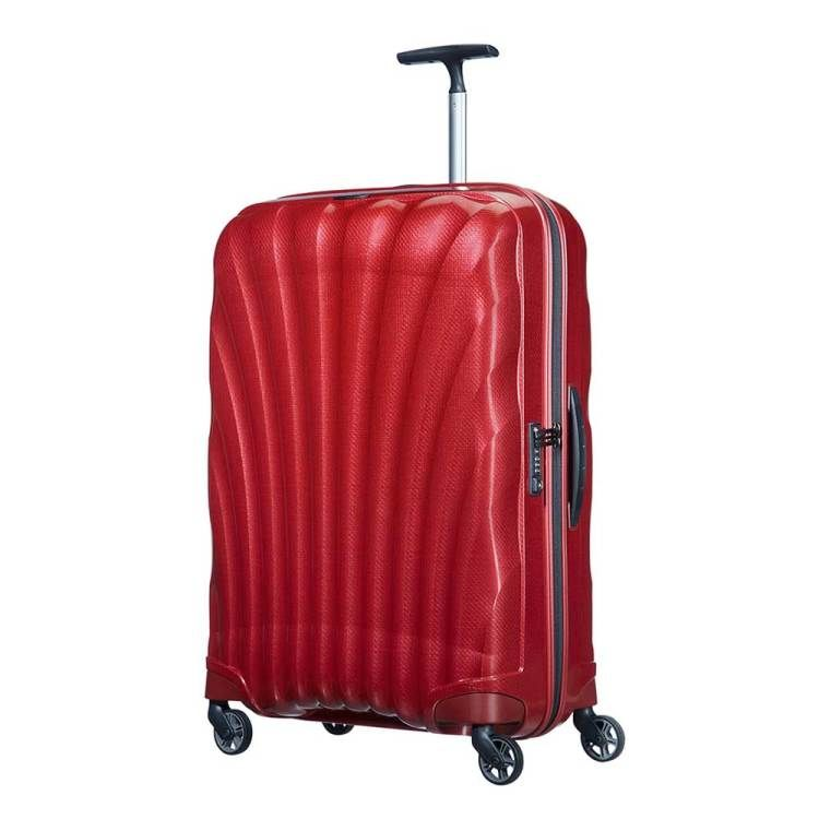 Samsonite Cosmolite Spinner 75 Fl2 Red Trekstangen Bagage En Tassen