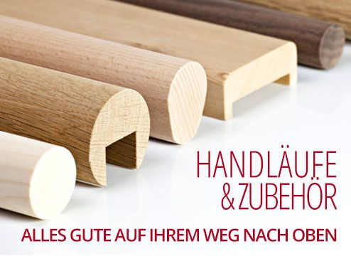 handlauf gerade und zubeh r handlauf aus holz treppe. Black Bedroom Furniture Sets. Home Design Ideas