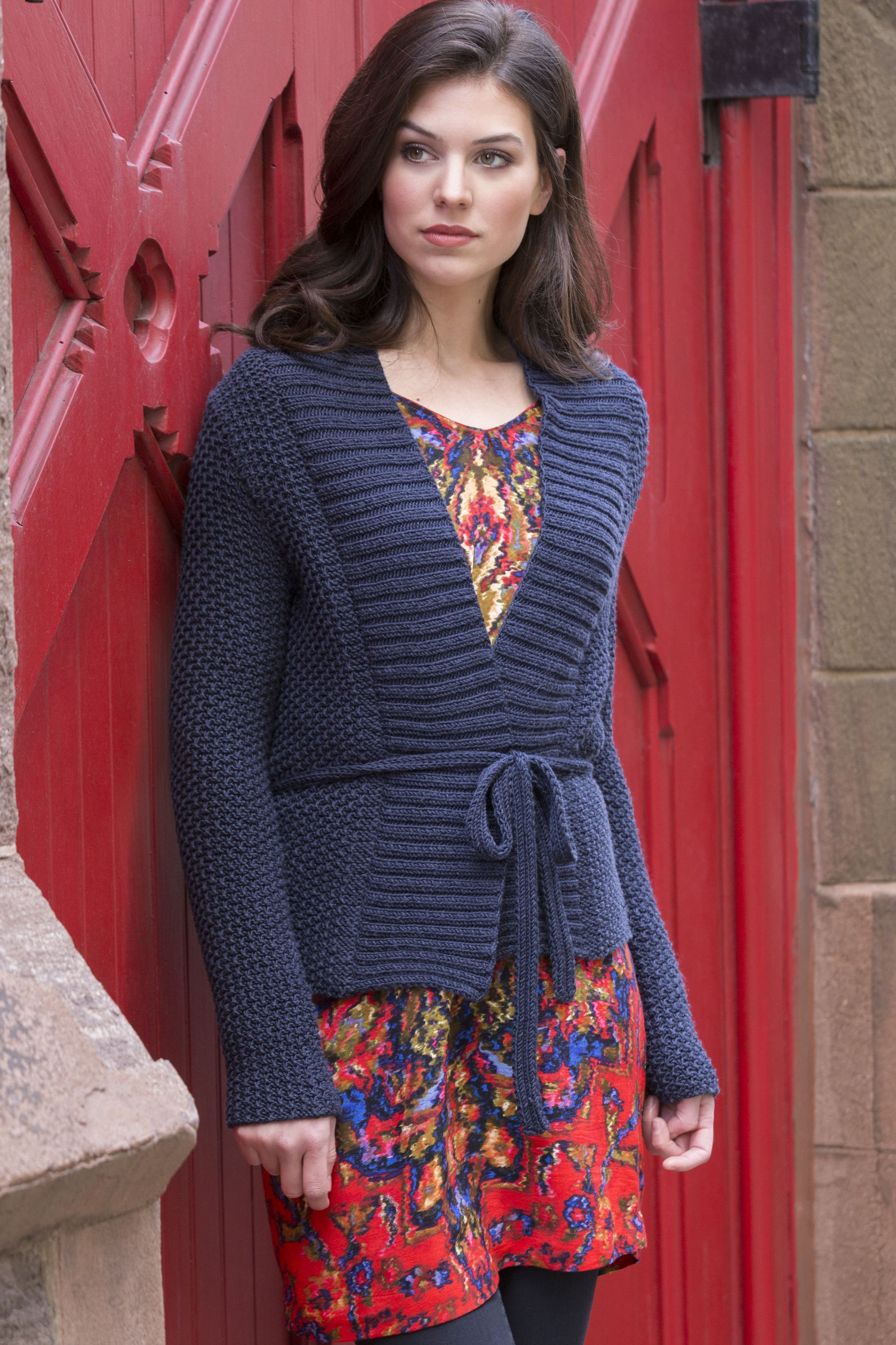 Beekman place cardigan in julie this simple cardigan is given beekman place cardigan in julie this simple cardigan is given texture through a slip easy knitting patternsstitch dt1010fo