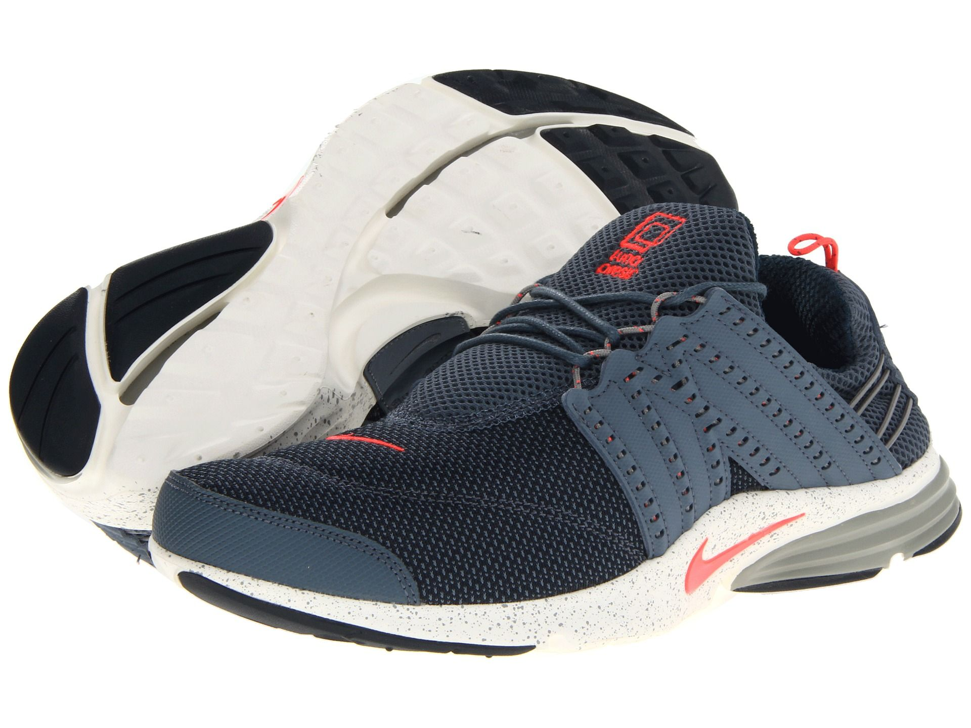 Nike Lunar Presto Armory Slate/Mine Grey/Sail/Atomic Red - Zappos.