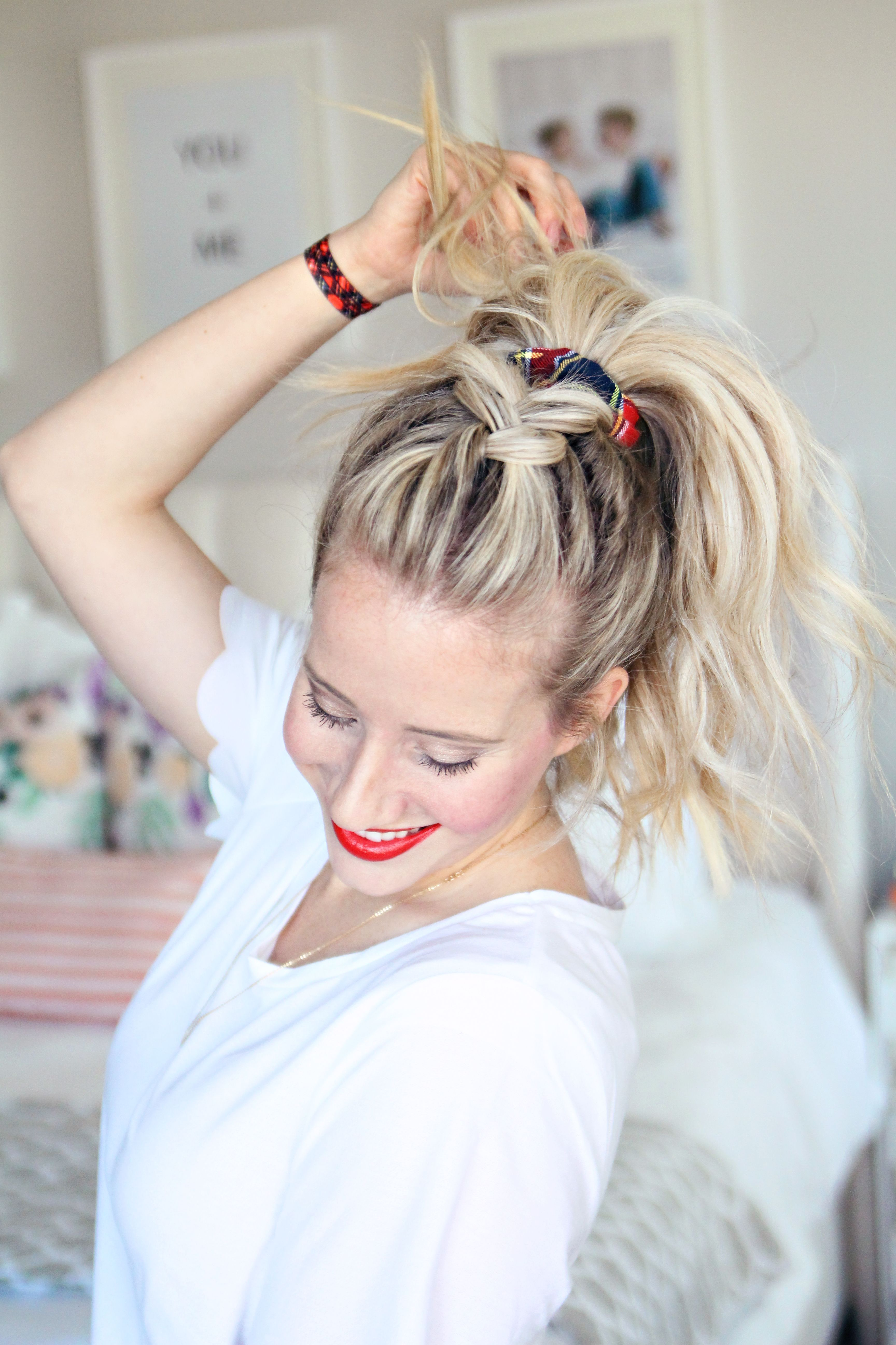 mad plaid sporty hairstyles