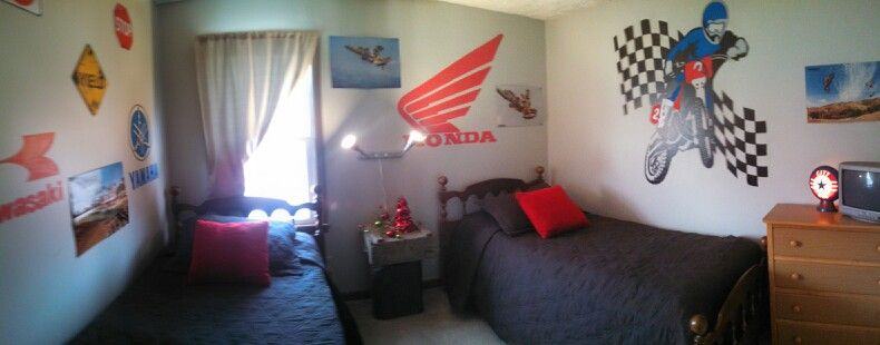 Dirt Bike Bedroom Ideas 3 Unique Inspiration Design