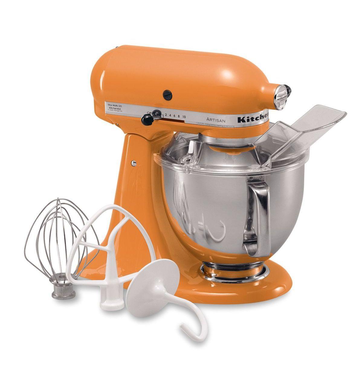 kitchenaid 8 qt mixer red